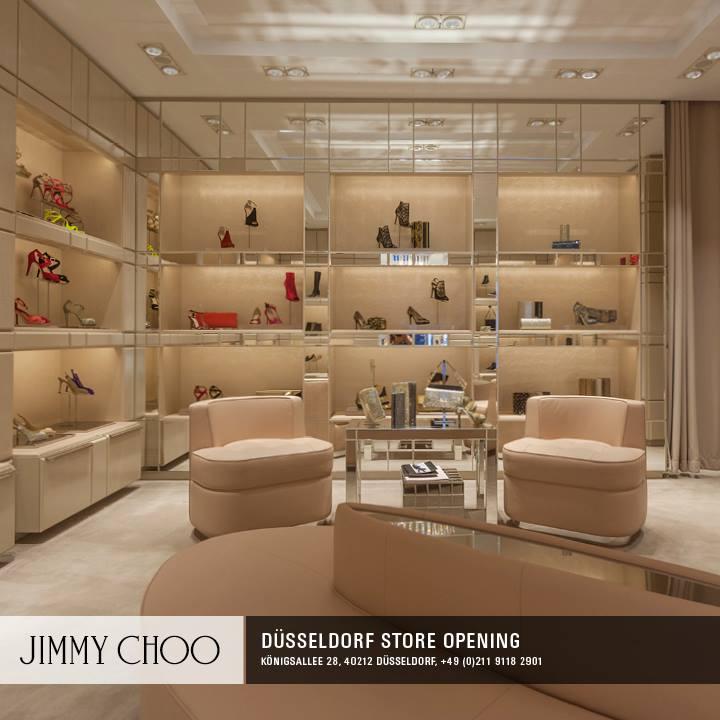 Jimmy Choo eröffnet Store in Düsseldorf