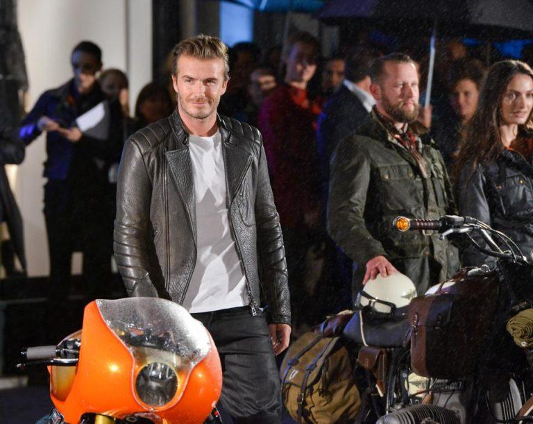 Belstaff – David Beckham bei der Shoperöffnung & neues Gesicht der Marke