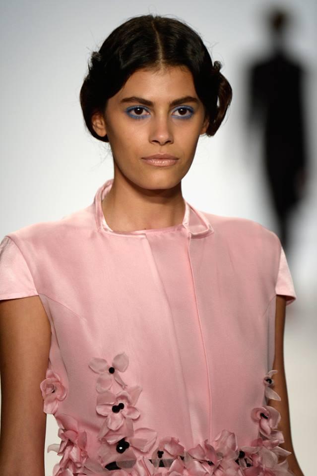 GNTM-Alisar Ailabouni erobert die New York Fashion Week