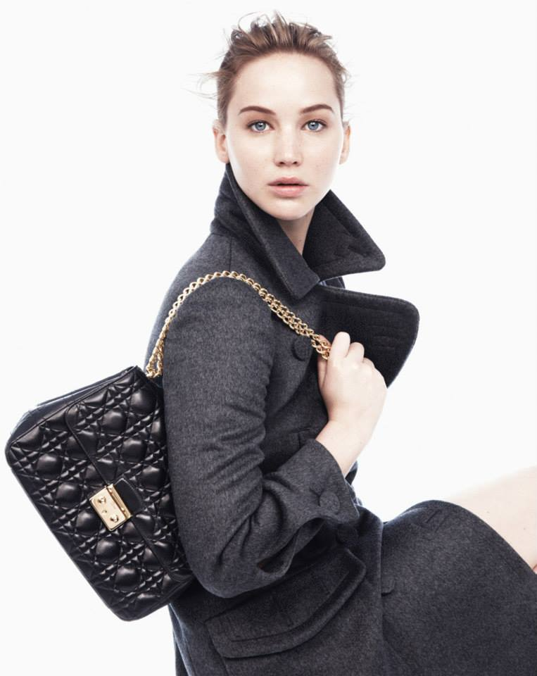 Jennifer Lawrence natürlich schön für Dior
