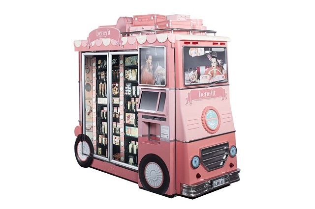 Hier kommt der Beauty-Bus!