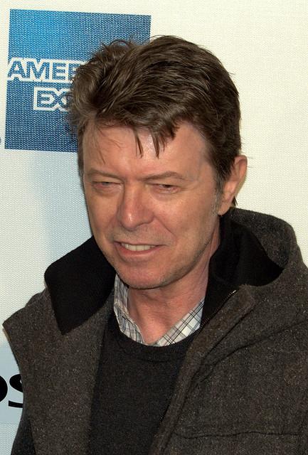 David Bowie modelt für Louis Vuitton
