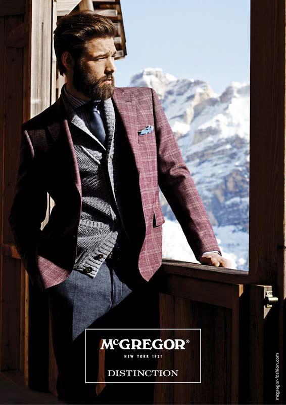McGregor Herrenmode: Die Distinction-Kollektion Herbst/Winter 2013/2014