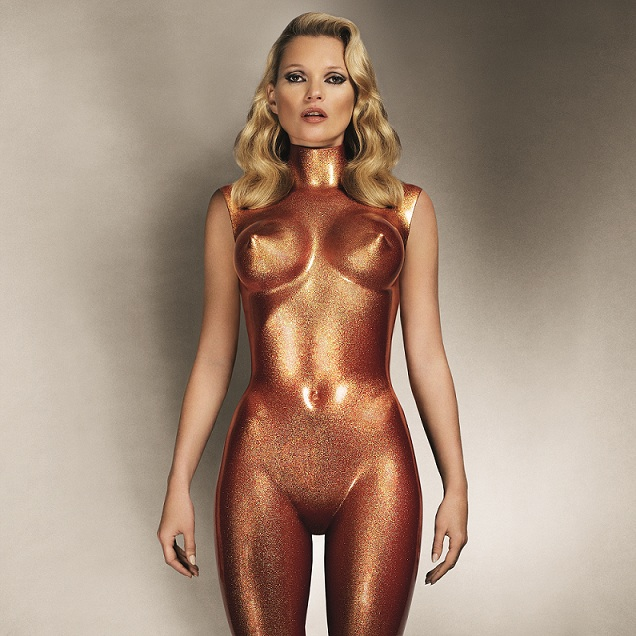 Allen jones - Kate Moss bronze glitter, 2013