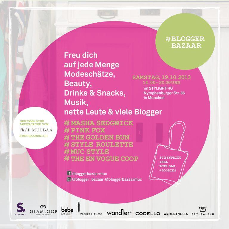 Der erste Blogger Bazaar in München