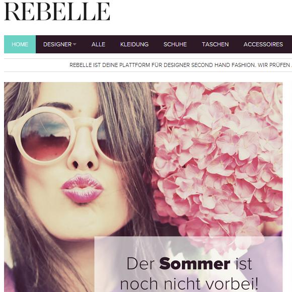 Rebelle.de – Luxus Second Hand Designermode
