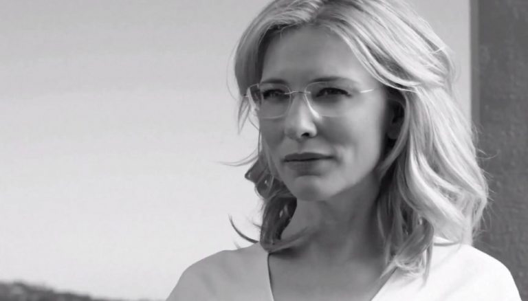 """An Icon for an Icon"": Cate Blanchett für Silhouette"