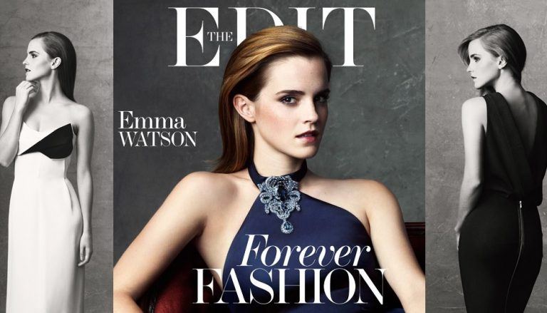 Emma Watson für Net-A-Porter