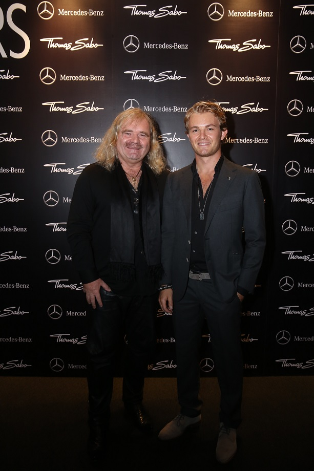 Thomas Sabo and Nico Rosberg