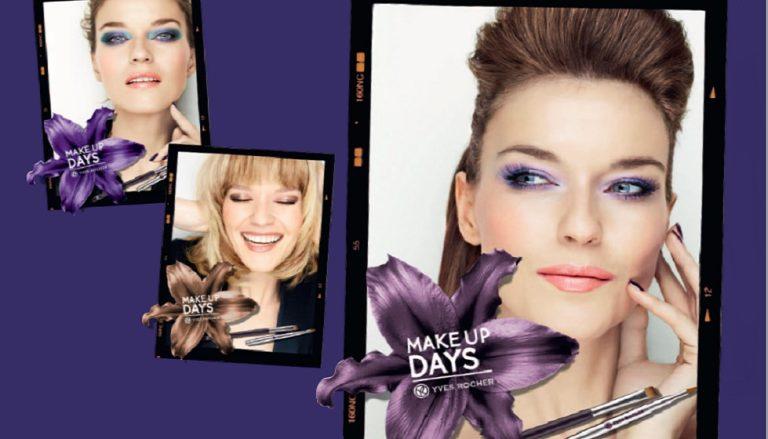 Make-up-Days in den Yves Rocher-Schönheitsgeschäften