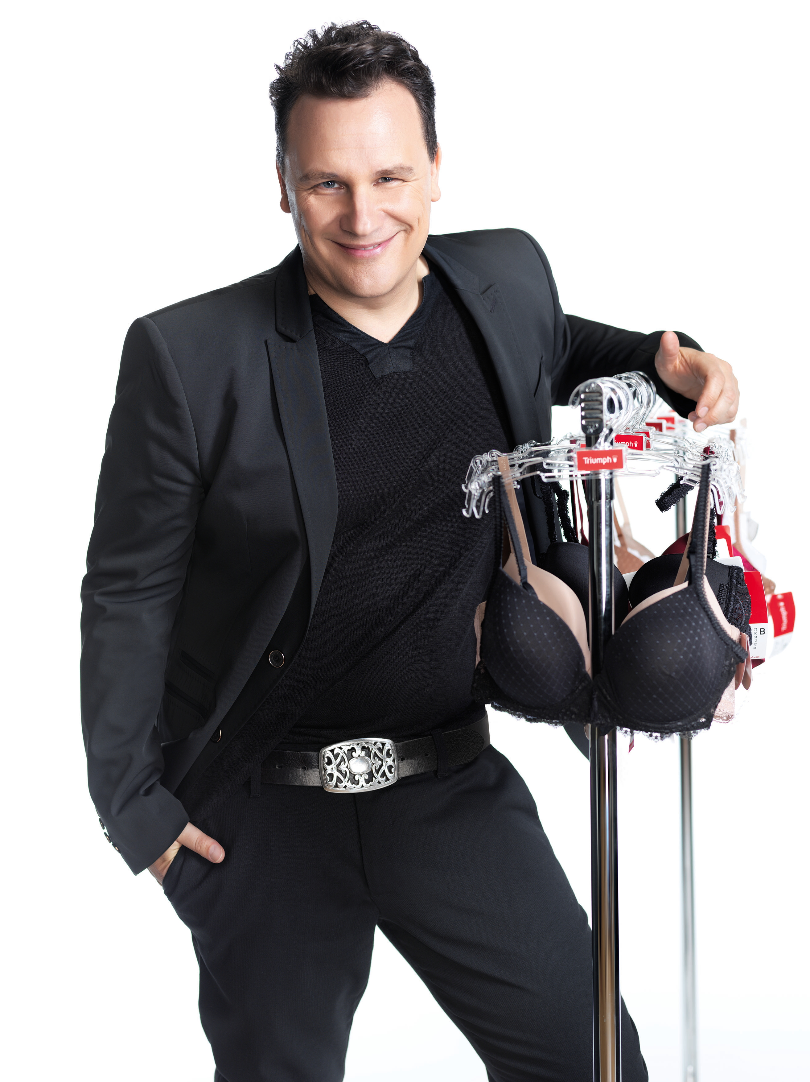 Triumph gibt neuen Markenbotschafter bekannt: Guido Maria Kretschmer