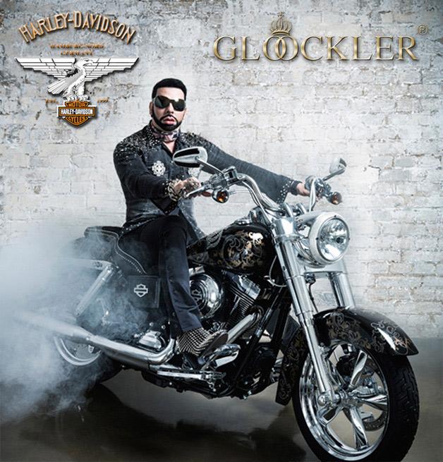 Harald Glööckler designt für Harley-Davidson