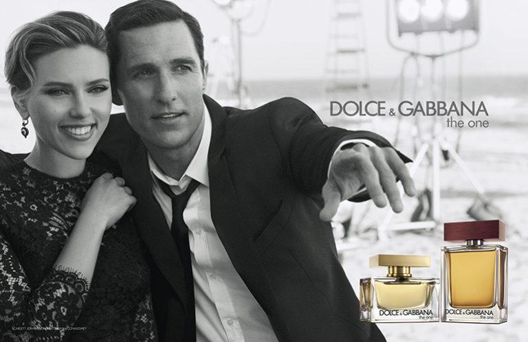 """Dolce & Gabbana: Scarlett Johansson und Matthew McConaughey für """"The One"""""""