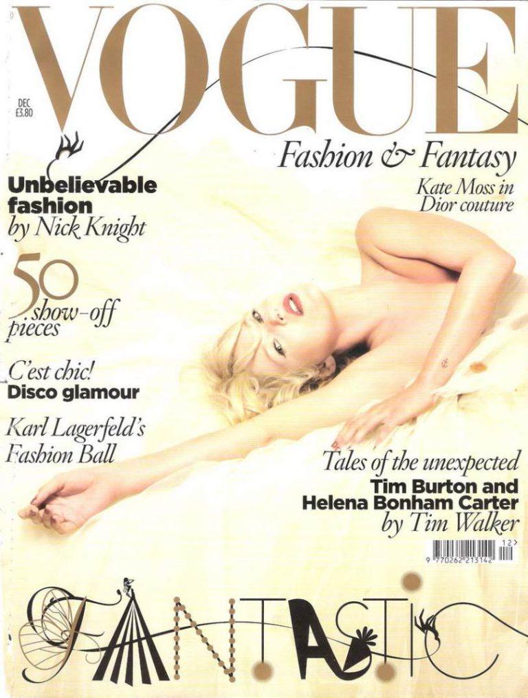 Genug gemodelt? Kate Moss arbeitet nun bei der VOGUE.