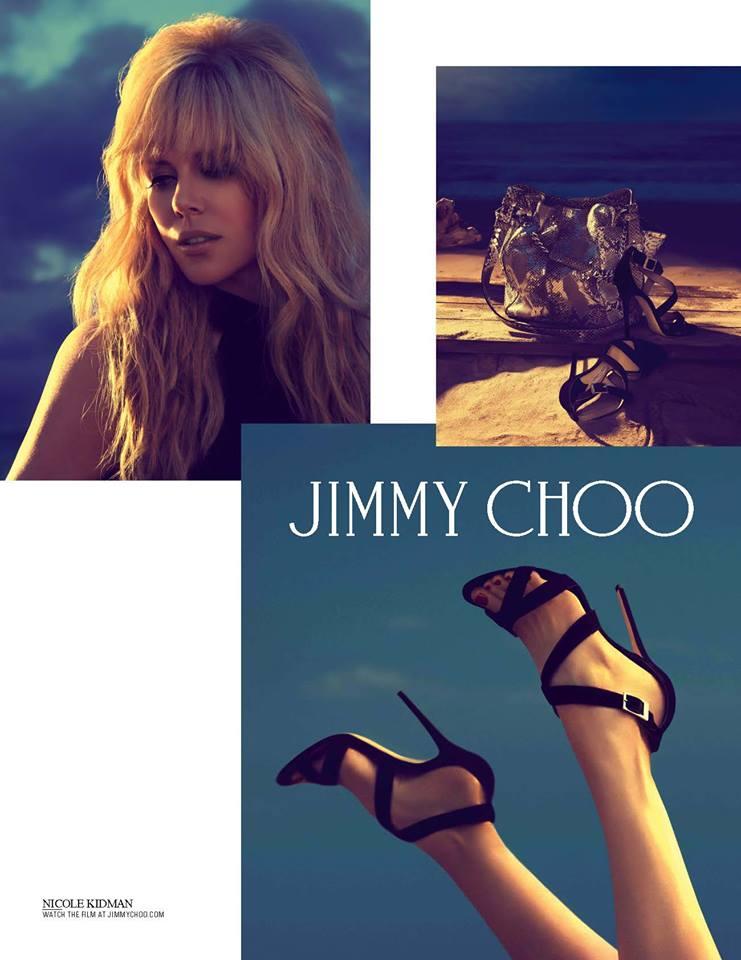 Nicole Kidman: Zweite Kampagne für Jimmy Choo