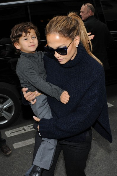 Jennifer Lopez schwört auf den wärmenden Kragen Foto: Flickr / myalexis