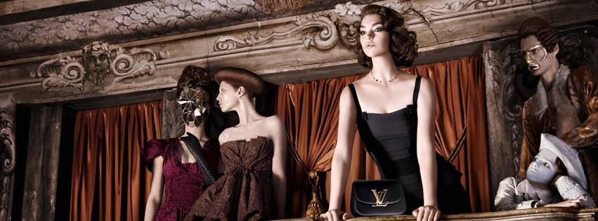 """Arizona Muse auch im 2. Teil der """"L'Invitation au Voyage""""-Kampagne Foto: Facebook / 'Louis Vuitton'"""