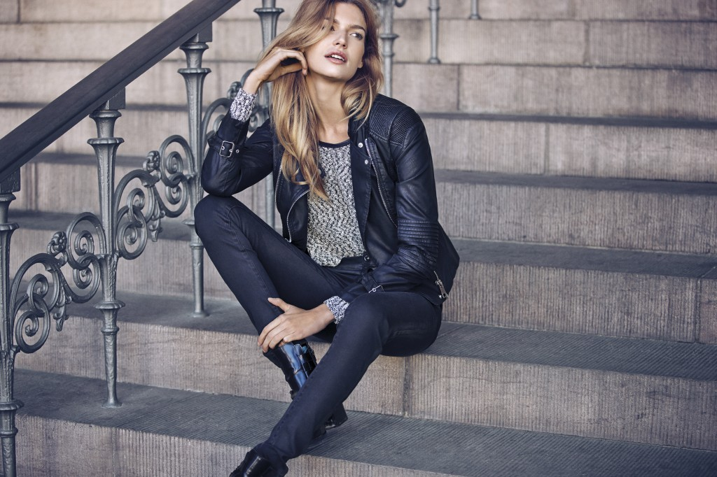 Favoris_biker_jacket_millos_knit_top_cleavo_5p_super_stretch_track_high