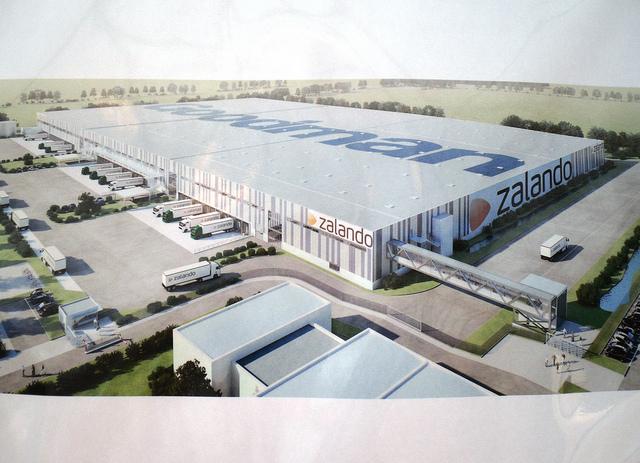 """Europas größter """"Kleiderschrank"""" in Erfurt - Das 'Zalando' Logistikzentrum"""