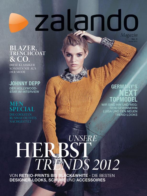 Das 'Zalando' Magazin