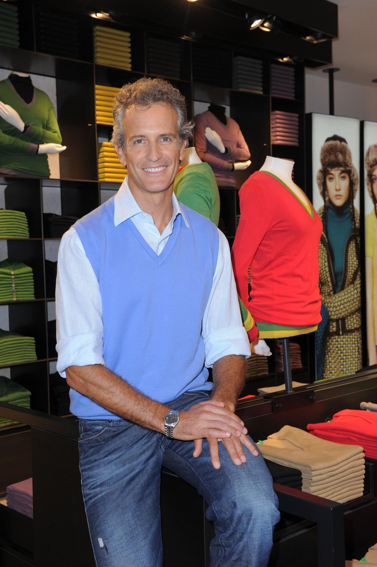 Alessandro Benetton ist erfreut über seine neueste Kooperation mit 'Puig' Foto: 'Benetton Group'