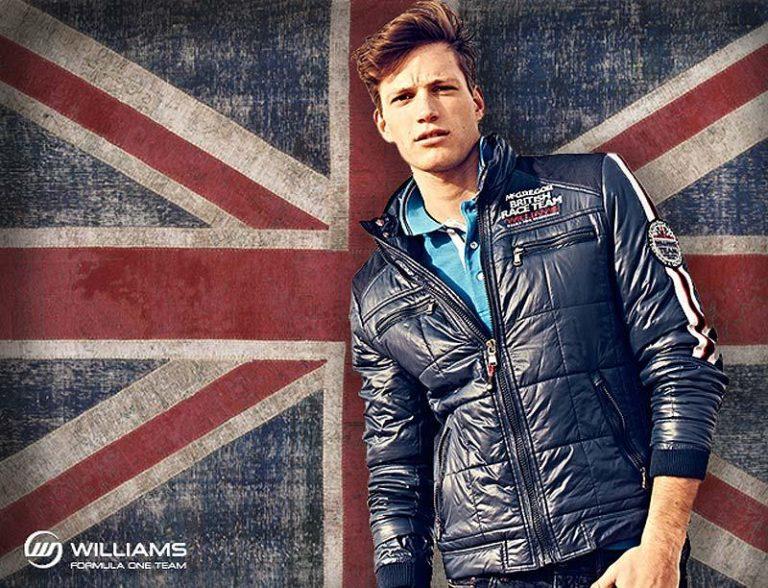 McGregor Williams F1 Team Fashion – Männermode im markanten Racing-Look