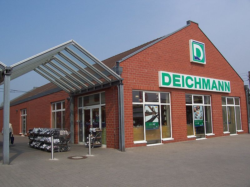 'Deichmann' ist Europas größter Schuhfachhandel Foto: Wikipedia / Joeb07