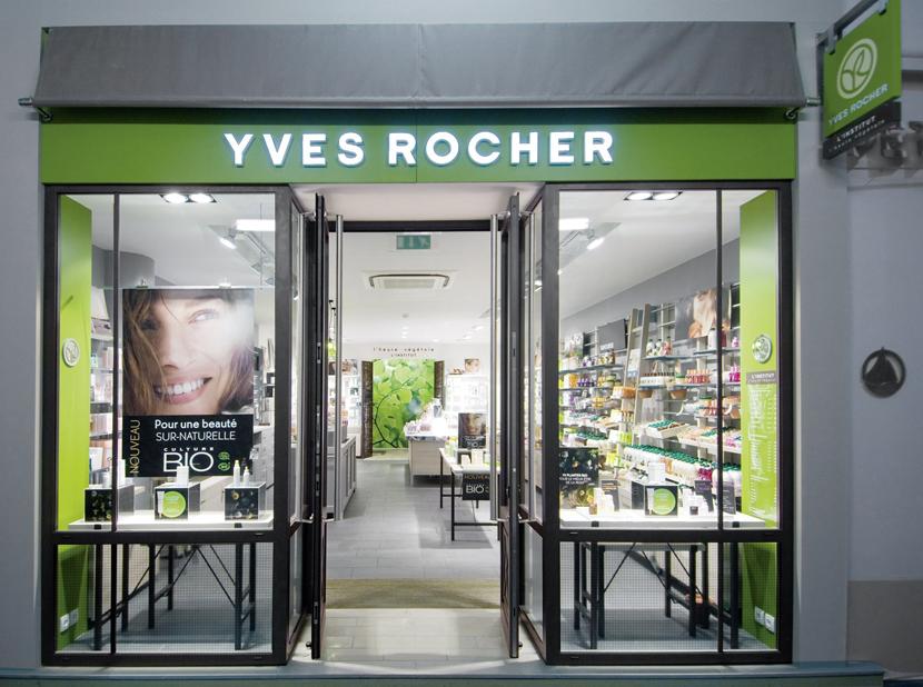 'Yves Rocher' steht für Schönheit aus der Natur