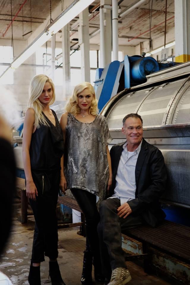Gwen Stefani beim Shooting des 'DWP'-Lookbooks mit Michael Glasser
