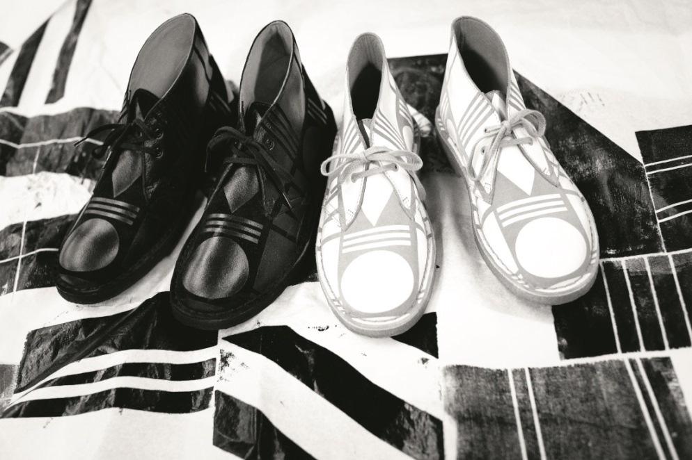 Patternity Desert Boots von Clarks Foto: © 2014 Clarks Shoes Vertriebs GmbH