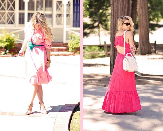 Zartes Rosa vs. knalliges Pink