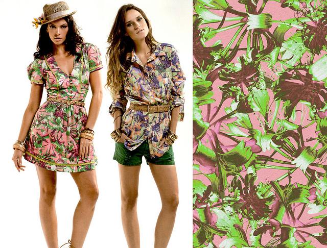Blumenprints sorgen für Frühling im Kleiderschrank Foto: Flickr / Alex Portes Design