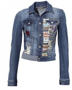 patchjeansjacke