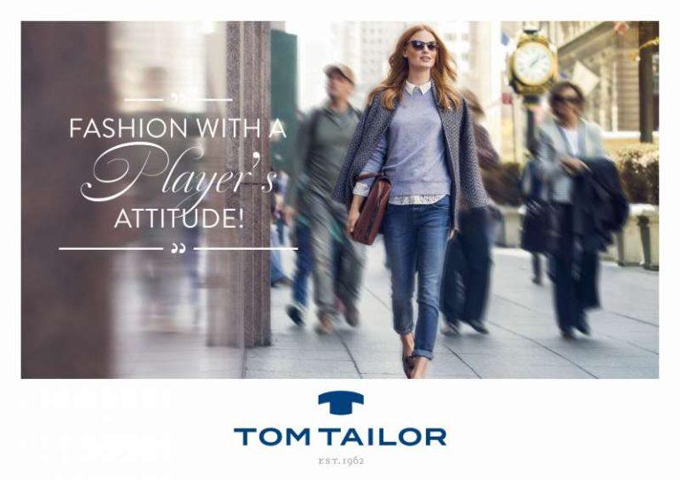 Tom Tailor – Marke startet mit Neuausrichtung in Herbstsaison 2014