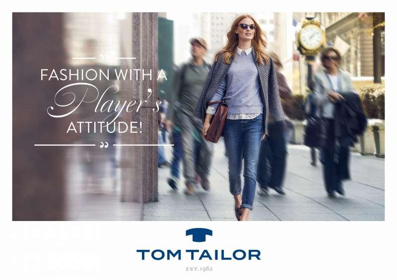 Tom Tailor startet mit neuer Markenausrichtung und Kampagne in die Herbst/Winter Saison 2014. Foto: Tom Tailor
