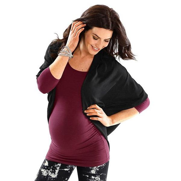 Modisch durch die Schwangerschaft