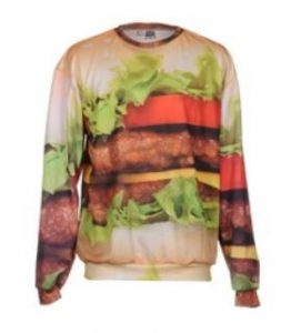 Hamburger Pullover