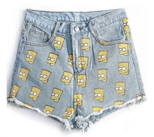 simpsons shorts