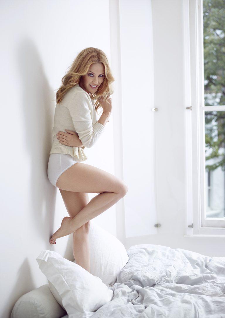 Sloggi: Kylie Minogue wirbt für deutsche Wäschemarke