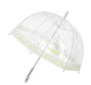 durchsichtiger Regenschirm