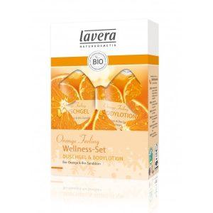 Lavera Orange Feeling Geschenkset
