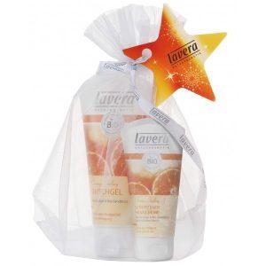 Lavera Duschgel & Handcreme Orange Feeling