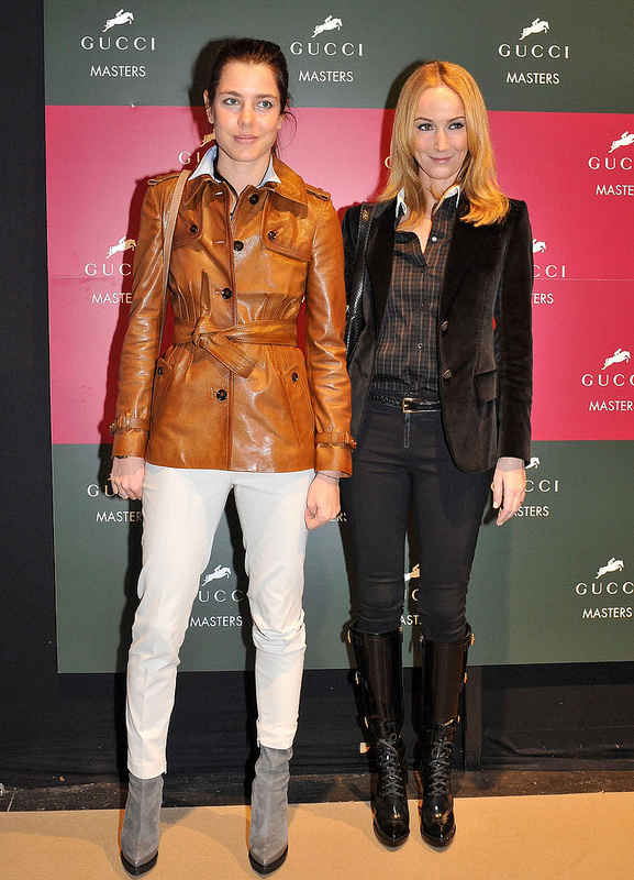 Frida Giannini (rechts) hier mit Charlotte Casiraghi verlässt nach 12 gemeinsamen Jahren die Modemarke Gucci. Foto: Flickr / fervent-adepte-de-la-mode