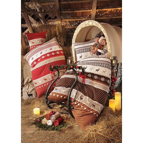 Hochwertige Bettwäsche zu Weihnachten kommt immer gut an.