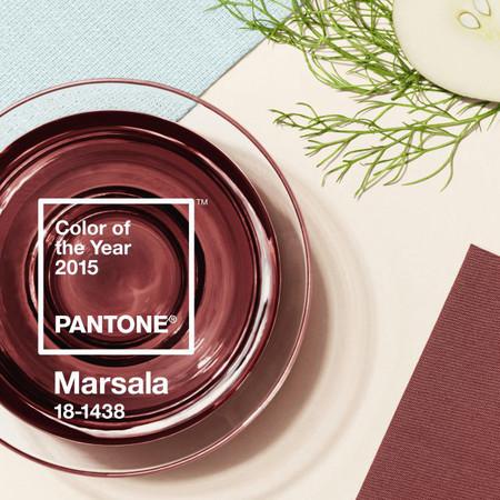 Marsala ist die Farbe des Jahres 2015 Foto: Pantone