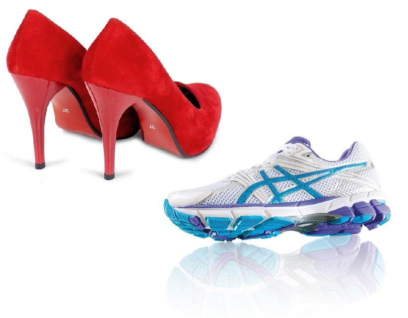 High Heels oder doch lieber Sneakers?