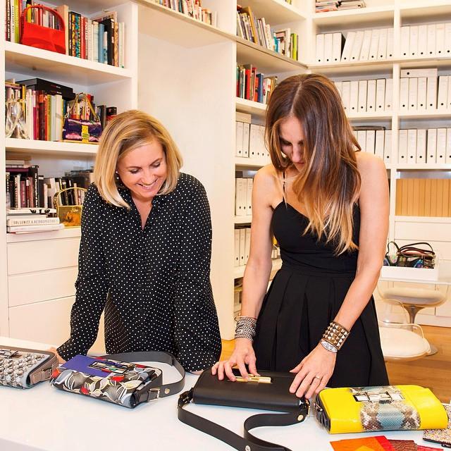 Stars wie Sarah Jessica Parker designen für Fendi exklusive 3Baguette Bags für einen guten Zweck. Foto: Instagram / Fendi