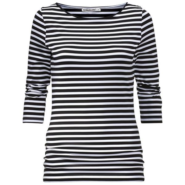 Klare Linien – Streifen in schwarz/weiß 2015
