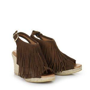 fransen sandalen