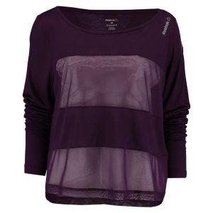 shirt lila mesh